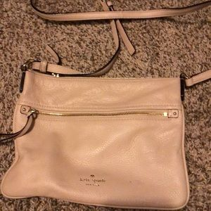 Kate spade cross over cream appears new